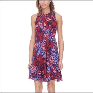 Rebecca Taylor fit and flare silk dress